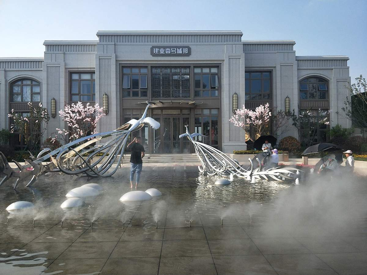 售楼处水景雕塑