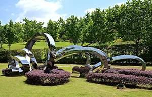 绿地园林景观雕塑造型