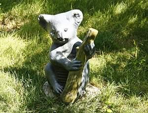 小考拉玻璃钢雕塑