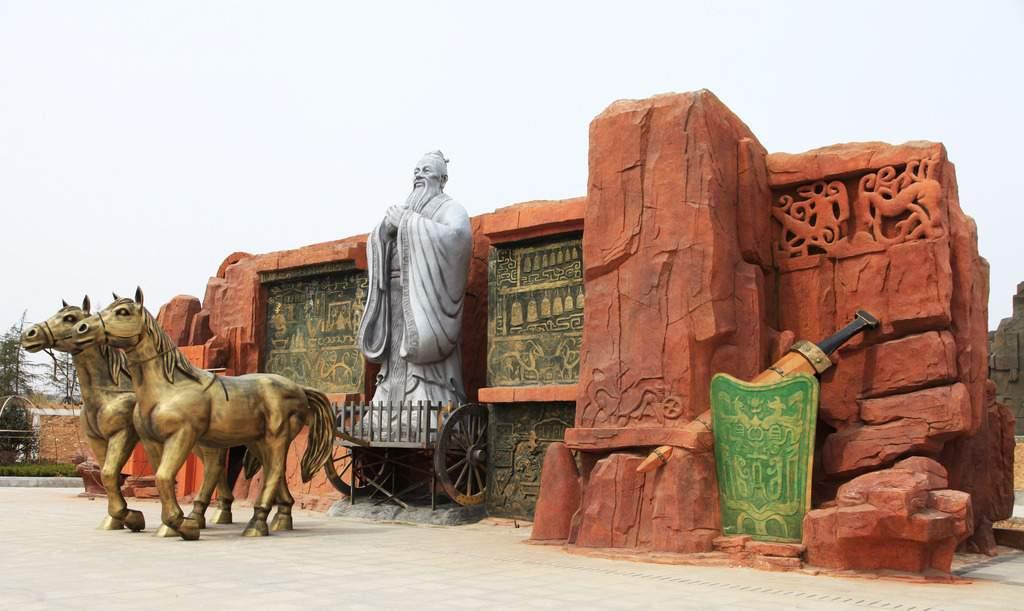 孔子周游列国大型主题雕塑