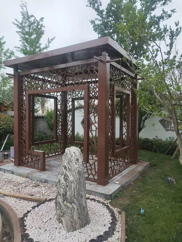 钢结构园林景观亭