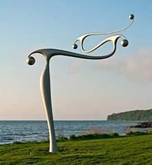 不锈钢景观异形风向标雕塑