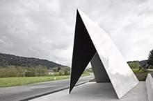 不锈钢几何异形钢构原色拉丝造型