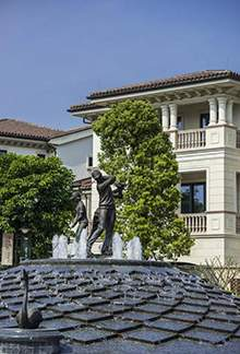 打高尔夫球雕塑不锈钢人物雕塑不锈钢水景雕塑不锈钢街道