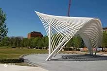景观廊架景观长廊景观雕塑公园廊架