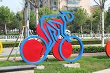 不锈钢雕塑运动人物雕塑运动造型雕塑不锈钢城市绿化造型