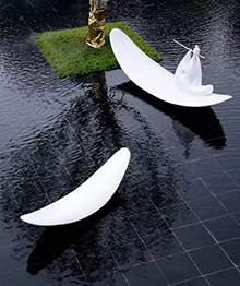 水景雕塑方舟雕塑船雕塑一叶方舟雕塑人物造型地产雕塑