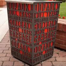艺术垃圾筒艺术垃圾筒城市艺术家具深圳雕塑,房地产雕塑