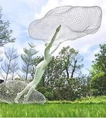 云朵和人创意景观雕塑户外软装配饰商业空间地产金属工艺