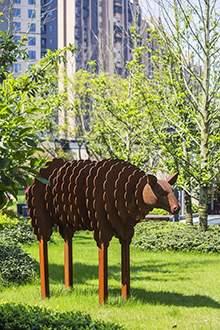 雕塑 摆件 地产雕塑 景观设计