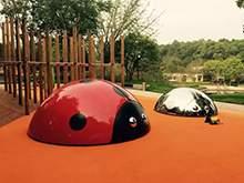 七星瓢虫雕塑不锈钢雕塑玻璃钢卡通雕塑儿童乐园雕塑