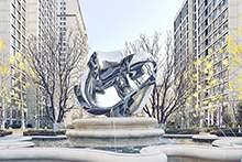 抽象雕塑不锈钢雕塑镜面雕塑园林雕塑地产雕塑