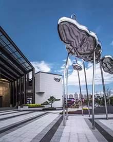 不锈钢云朵造型不锈钢地产雕塑不锈钢镜面造型商业街雕塑