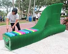 不锈钢坐凳彩艺雕塑公园坐凳现代艺术坐凳不锈钢异形雕塑